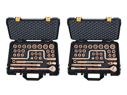 101G防爆盒装成套套筒32件套