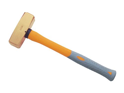 2104A黄铜塑柄德式八角锤