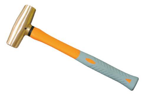 2102A 黄铜塑柄圆鼓锤