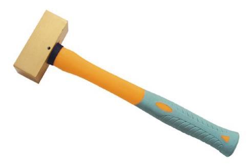 2106A 黄铜塑柄方锤