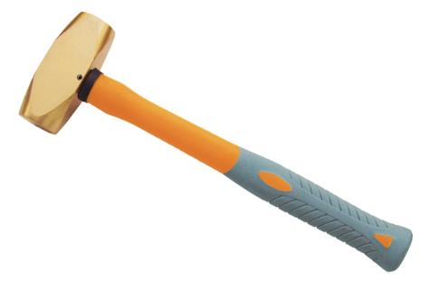 2107A 黄铜塑柄欧式平锤
