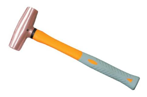 2202A 紫铜塑柄八角锤