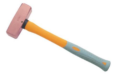 2204A 紫铜塑柄德式八角锤