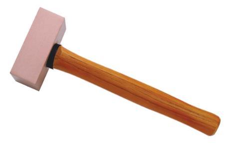 2206B 紫铜木柄方锤