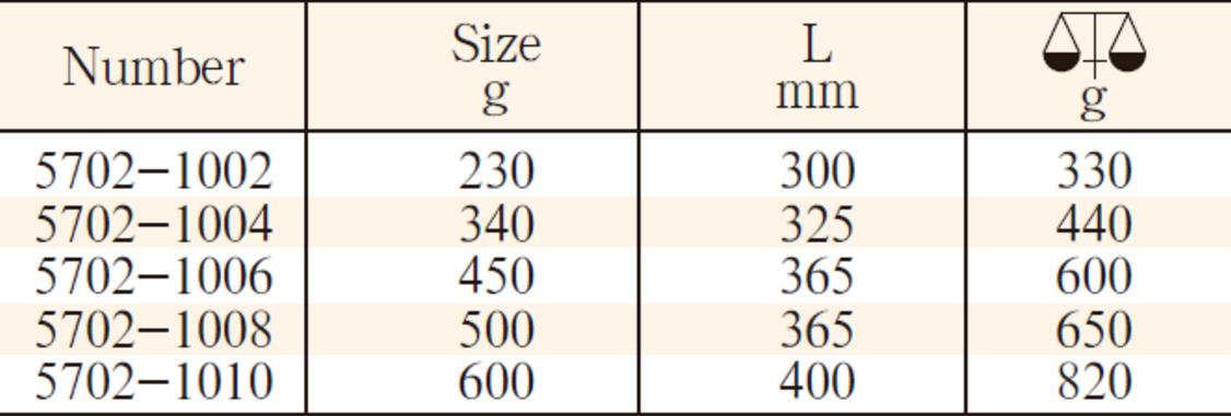 5702钛合金机械锤