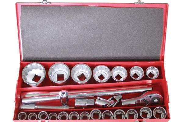 4314 26件20mm+25mm公制套筒扳手组套