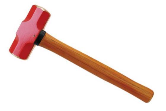 191H防爆新型木柄八角锤