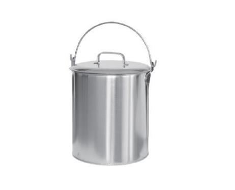 8607不锈钢加盖水桶